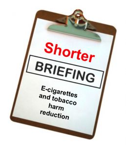 Shorter briefing