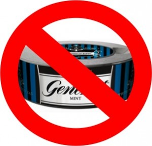 snus prohibition