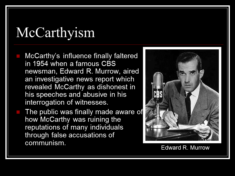 crucible and mccarthyism thesis